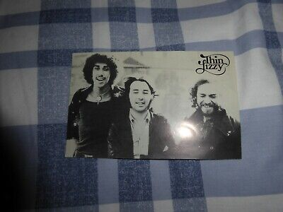 THIN LIZZY VERY RARE  PROMO POSTCARD EARLY 70`s • 60£