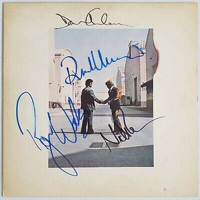 PINK FLOYD 'Wish You Were Here' Signed Autograph Album (REAL) Beatles Stones Era • 9,995£