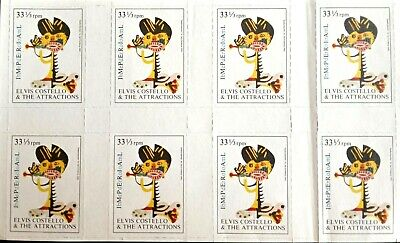 Barney Bubbles/Elvis Costello - Sheet Of Promo Stamps For Imperial Bedroom. • 20£