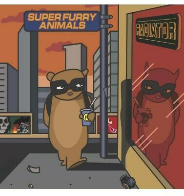 Super Furry Animals Radiator Giclee Print - Signed By Pete Fowler  • 55£