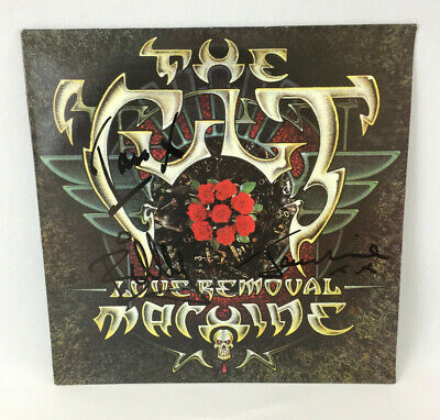 The Cult - Love Removal Machine - Fully Autographed - 12  E.p. -1987. • 85£