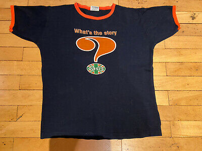 Oasis 'What's The Story' Tour 1995 T-Shirt • 60£