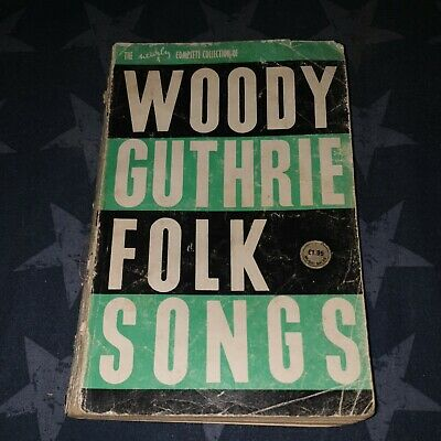 Woody Guthrie Folk Songs Complete Collection Rare Old Music Book  • 0.99£