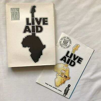 LIVE AID - FEED THE WORLD DVDs 1985 • 30£
