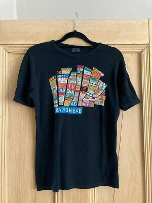 Vintage Radiohead Hail To The Thief Band T-shirt Small S Rare Collectors Fans • 40£