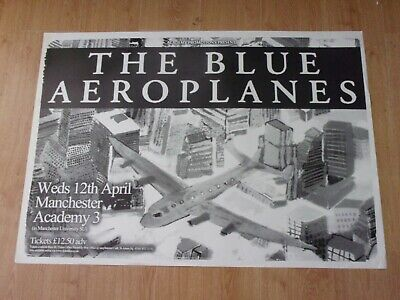 The Blue Aeroplanes Original Tour Poster From Manchester University 2006  • 15£