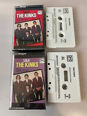 The Kinks  Lola  Cassette One & Two - Cassettes - Tapes  • 3.99£