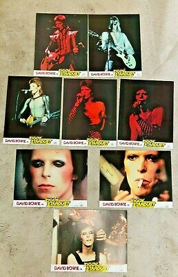 Vintage 1970s David Bowie Ziggy Stardust & The Spiders From Mars Cinema Cards • 75£