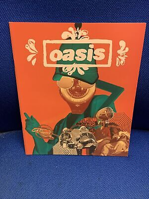 Oasis Tour Programme Dig Out Your Soul New . • 10.99£