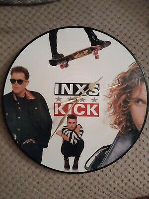 Inxs Kick Picture Disc Record Clock • 41£