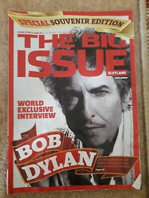 Bob Dylan - The Big Issue Scotland.November 2009 • 1.99£