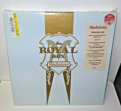 Vintage **SEALED** MADONNA ROYAL BOX Set Limited Edition Collection • 64.80£