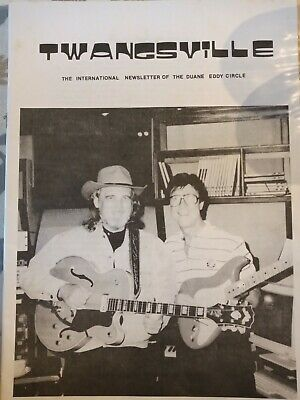 Duane Eddy 'Twangsville' Collectors International Duane Eddy Circle newsletters  • 25£