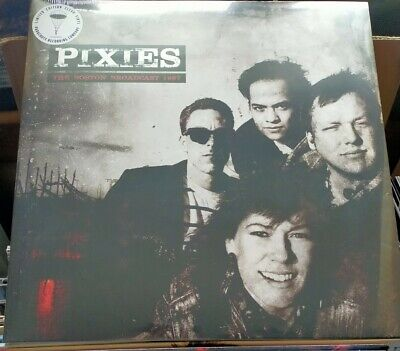 PIXIES The Boston Broadcast 1987 2017 Limited Edition Clear Vinyl LP  • 18£
