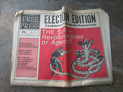Los Angeles Free Press Newspaper May 1974 Golden Earring Blue Oyster Cult • 14.99£