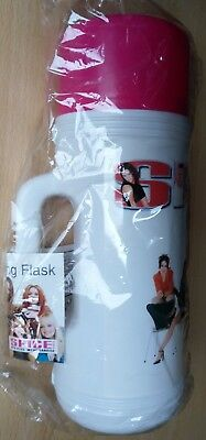 Spice Girls 1998 Plastic Flask Sealed Mint Original Official Rare Unopened ... • 49.95£