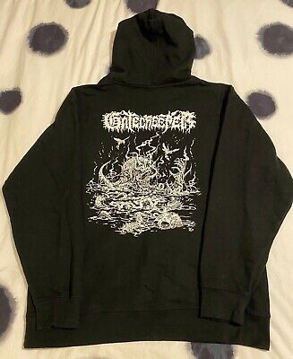 Gatecreeper Hoodie Size Large Hxc Death Metal • 9.99£