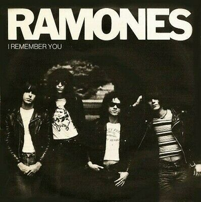 Ramones I Remember You 7  45rpm Reproduction Picture Sleeve Only  • 4.60£