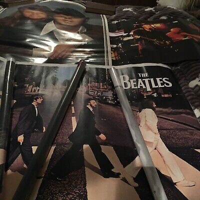 The Beatles Posters X 6 • 20£