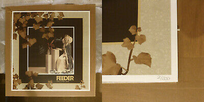 FEEDER Picture Of Perfect Youth LTD Signed Lithograph Poster Print #002/200 RARE • 350£