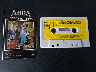 Abba - Greatest Hits - Uk Cassette - Tested Vg • 3.90£