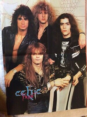 CELTIC FROST Poster Late 1980s THRASH SPEED BLACK METAL • 0.99£