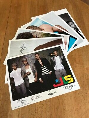 """JLS NEW Printed Signed Autograph Photo Print Cards Set Of 6 Cards. 8x10"""" Each. • 11£"""