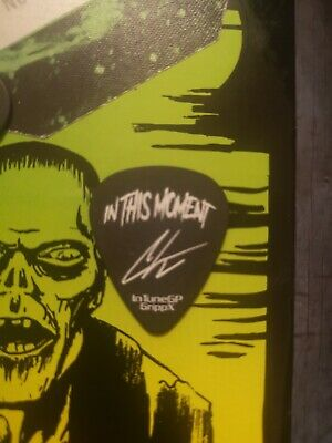 In This Moment Guitar Pick Genuine Stage Used  • 30£