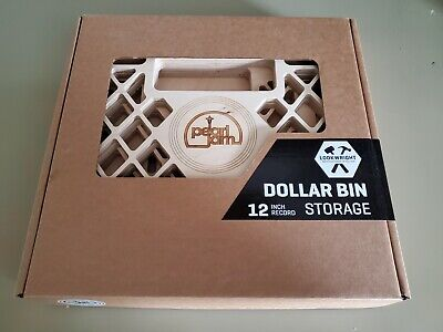 Pearl Jam Lookwright 12   Vinyl Record Crate New Sealed • 424.88£