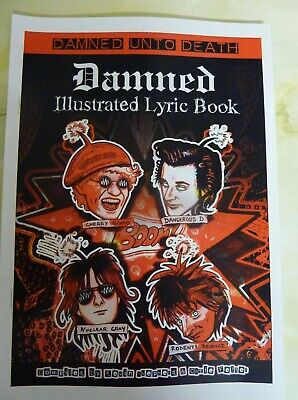 Damned Illustrated Lyric Book 123 Pages Of Art And Words  • 10£