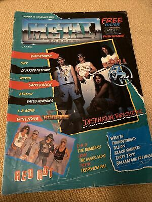 Metal Forces Magazine Issue 44 November 1989 • 3.50£