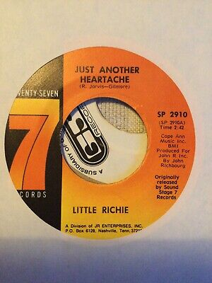 Northern Soul ,Little Richie Just Another Heartache • 20£
