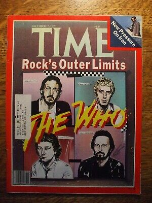 The Who December 1979 Time Magazine  • 1.42£