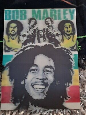 Bob Marley Hologram Picture 15.5   X 11.5  1 Cm Thick  • 6.50£