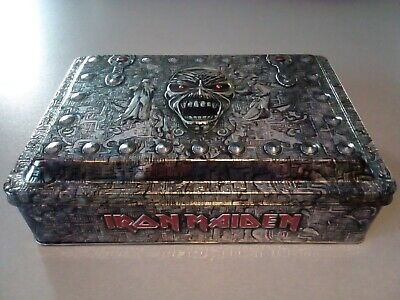IRON MAIDEN EDDIE'S ARCHIVE BOX SET COMPLETE RARE MINT 3x 2CD SCROLL GLASS RING  • 78.66£