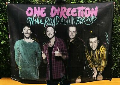 One Direction On The Road Again Flag/Banner • 20£