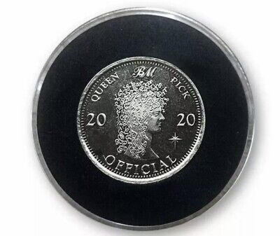 Brian May Queen 2020 Ltd Edition Silver  Red Special  Sixpence • 20£