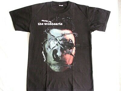 The Wildhearts T-Shirt Original Earth Vs. Tour Metal Rock Band Ginger Therapy?  • 9.99£