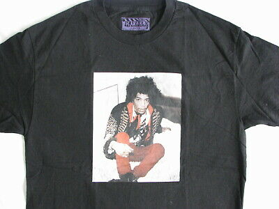 Jimi Hendrix T-Shirt By Grizzly Large Concert Tour Metal Rock Band Cream Clapton • 9.99£