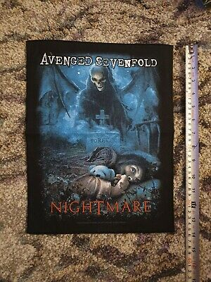 Large Avenged Sevenfold Nightmare Patch Unused/new • 5.99£