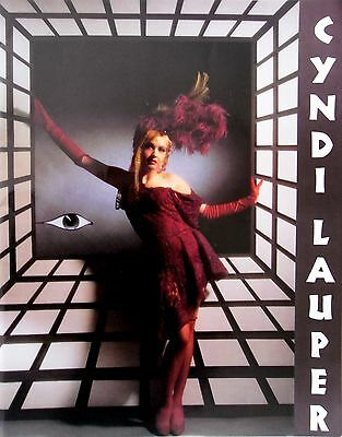 Cyndi Lauper * True Colors Tour Programme * 1986/87 * Htf!  • 25£
