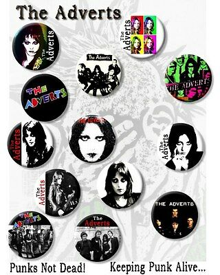 The Adverts- Gaye Advert/punk Legends/ 25 Mm/ 1   Button Badge • 9.99£
