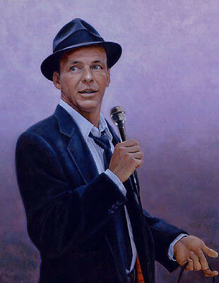 Frank Sinatra 10  X 8  UNSIGNED Photograph - P832 - Singer & Actor • 2.99£