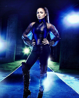 Janet Jackson UNSIGNED Photo - 9268 - SEXY!!!!! • 2.99£