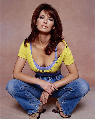 Shania Twain UNSIGNED Photo - F672 - SEXY!!!!! • 2.99£