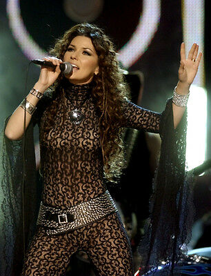 Shania Twain UNSIGNED Photo - F675 - SEXY!!!!! • 2.99£