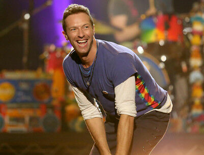 Chris Martin UNSIGNED Photo - K7328 - Lead Singer Of The Rock Band Coldplay • 1£