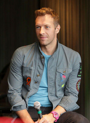 Chris Martin UNSIGNED Photo - K7351 - SEXY!!!! • 1£