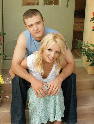 Justin Timberlake And Britney Spears UNSIGNED Photo - K8058 - SEXY!!!! • 3.99£