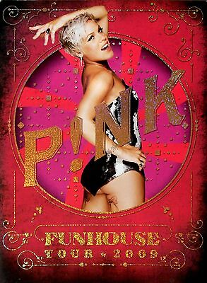 Pink (p!nk) * Funhouse Tour Programme * 2009 * Htf! * So What * Sober • 55£